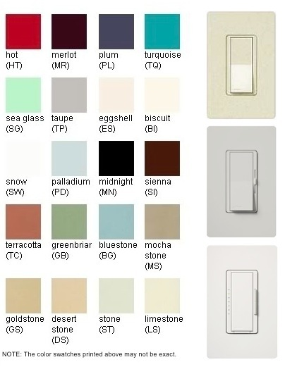 Lutron Satin Colours